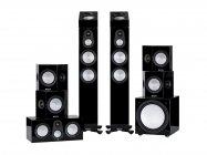 Monitor Audio 7G Silver 300 Dolby Atmos® Cinema 7.1.2 | Zestaw kina domowego 7.1.2 | Czarny HG