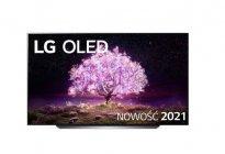 "LG 83""OLED83C1 telewizor | 4K Cinema HDR AI TV ze sztuczną inteligencją | OLED83C11LA"