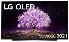 """LG 65""""OLED65C1 czarny telewizor    OLED 4K Cinema HDR AI TV ze sztuczną inteligencją   OLED65C11LB   Dostępne od ręki!   SŁUCHAWKI GRATIS!"""