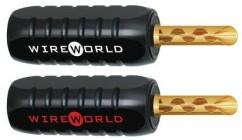 Wireworld Gold ABS wtyk banan